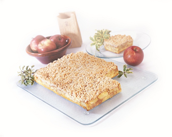 APPLE STREUSEL SHEET NO SUGAR ADDED