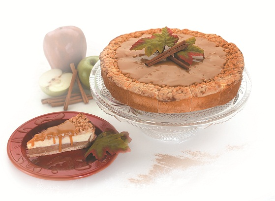 Apple Caramel Cheese Cake